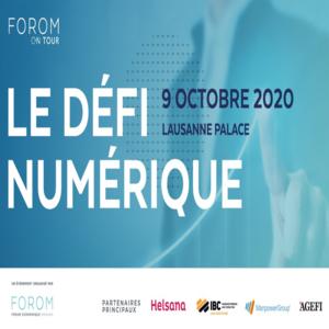 Acadys International était présent au FOROM Digital le 9 octobre dernier à Lausanne